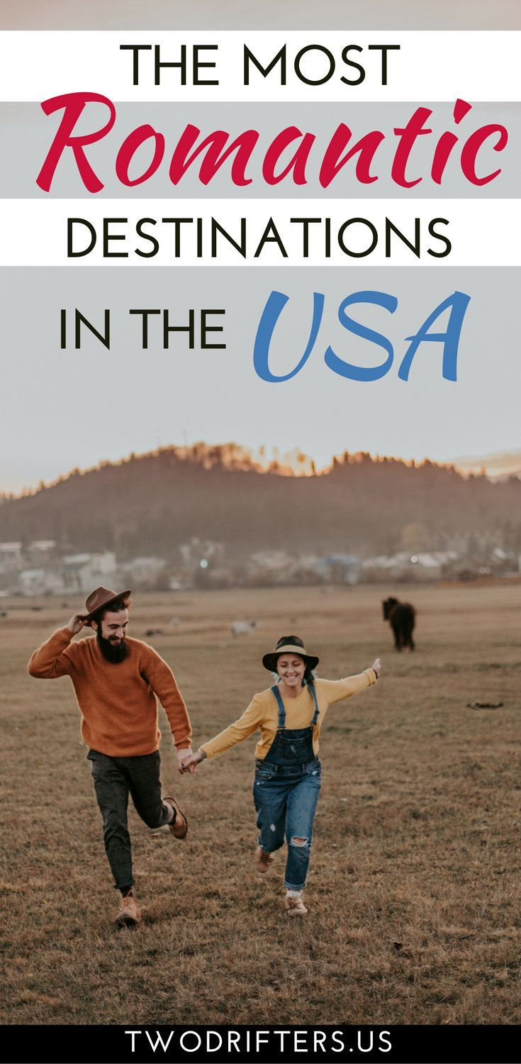 Looking for the most romantic places to travel in the US? Here are some of the sweetest spots in the USA for couples. Romantic destinations United States   USA travel romantic. #Travel #traveladdict  #couples #honeymoon #romance