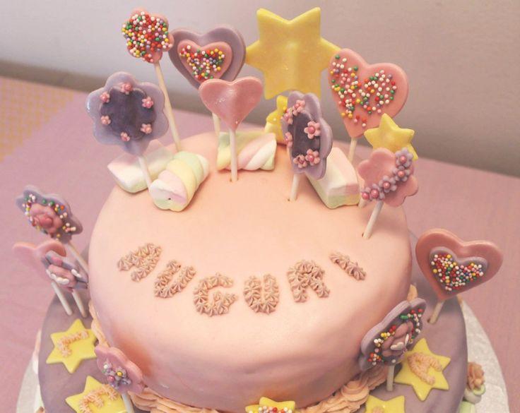 Risultati immagini per torta lecca lecca