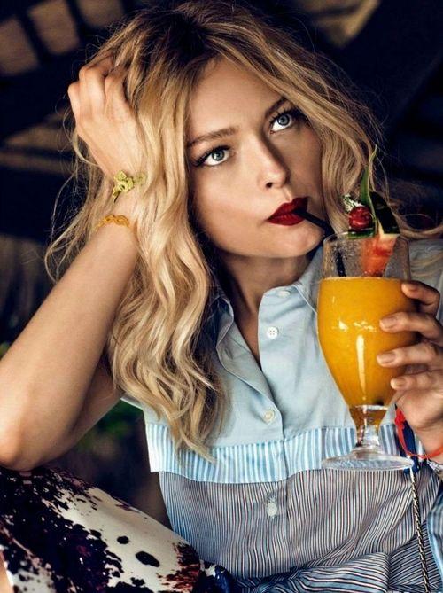 """""""Vacanze da Sogno"""" Glamour Italia, August 2014 Model : Olga Maliouk"""