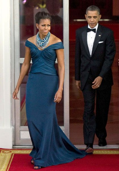 President Barack Obama and First Lady Michelle Obama Michael Kors Style Fashion