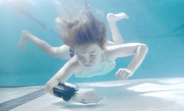 Le bracelet Kingii : pour jouer dans l'eau de manière plus sécuritaire