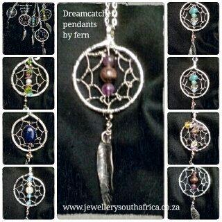 Dreamcatcher pendants handmade by HippieshopAfrica on Etsy