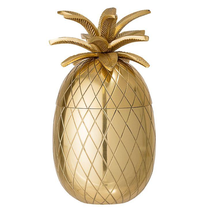 Bloomingville Eiskübel Ananas Gold