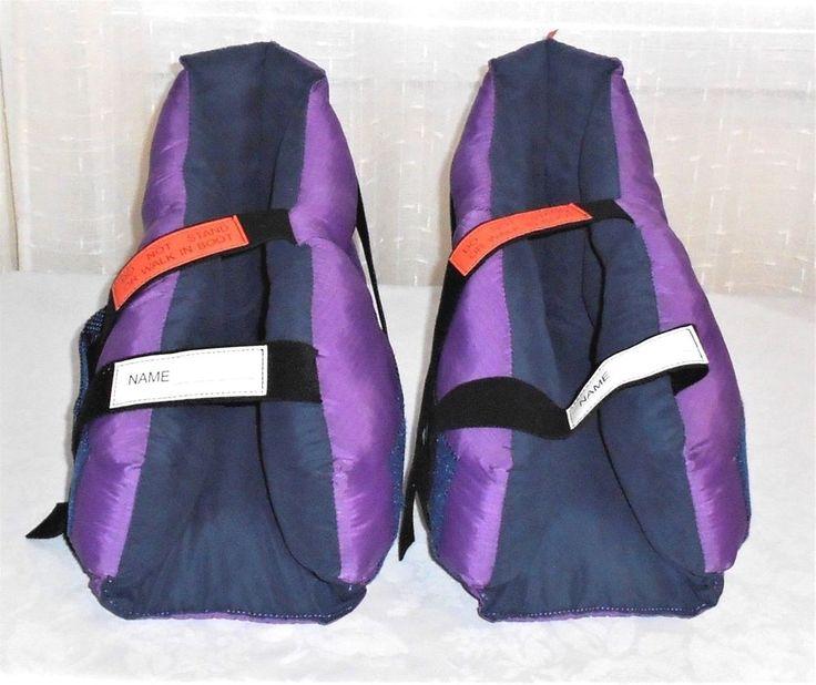 Primo Build a Boot Premier Offloading Heel Boot Elite Soft Heel Protector Purple #Primo