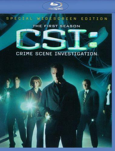 CSI: Crime Scene Investigation - The First Season [5 Discs] [Blu-ray]