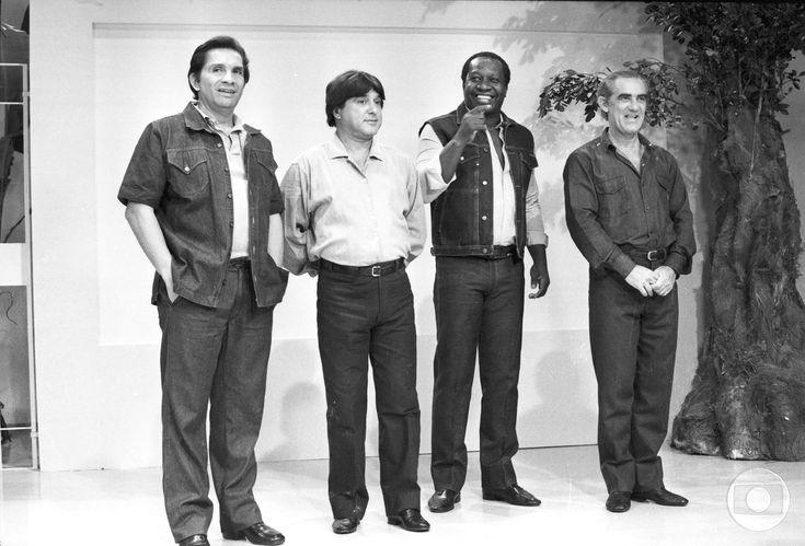 'Os Trapalhões' estreou na TV Globo em 1977 com Renato Aragão, Dedé Santana, Mussum e Zacarias