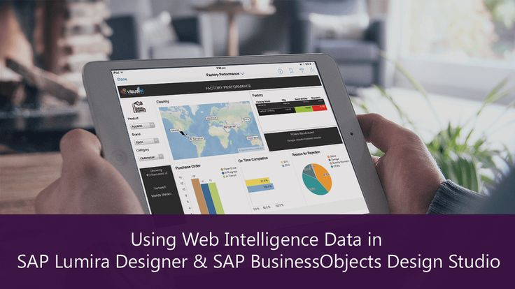 Web Intelligence Data in SAP Lumira Designer and SAP BusinessObjects Design Studio - Vis...
