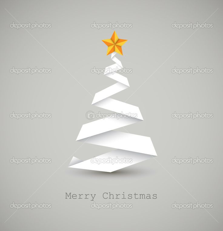 vánoční stromeček z papíru - Hledat Googlem