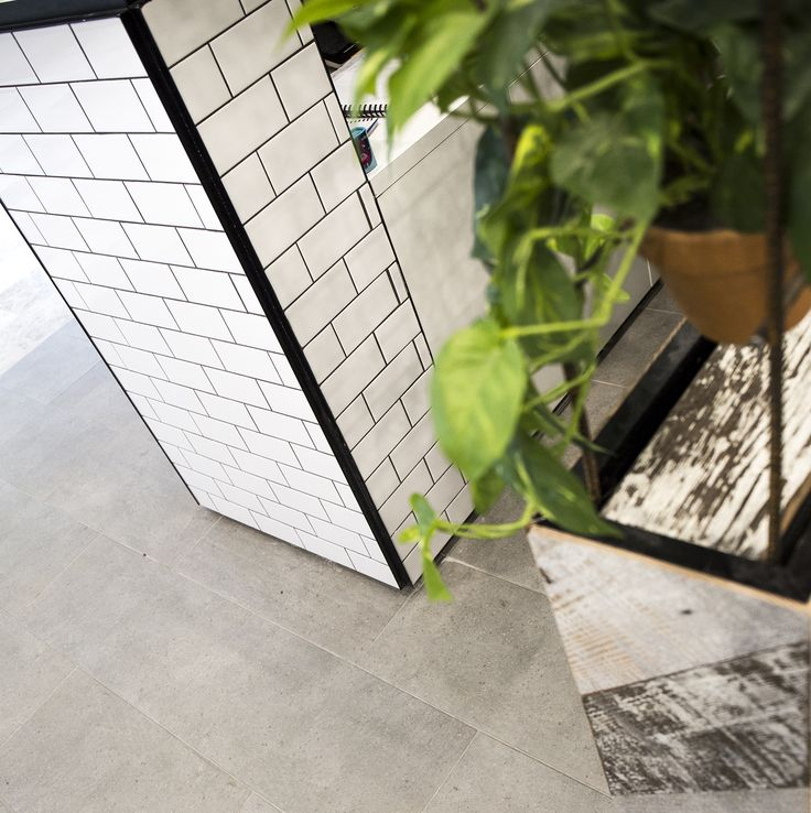 Retail space featuring >> National Tiles <<  #tilestyle #nationaltiles