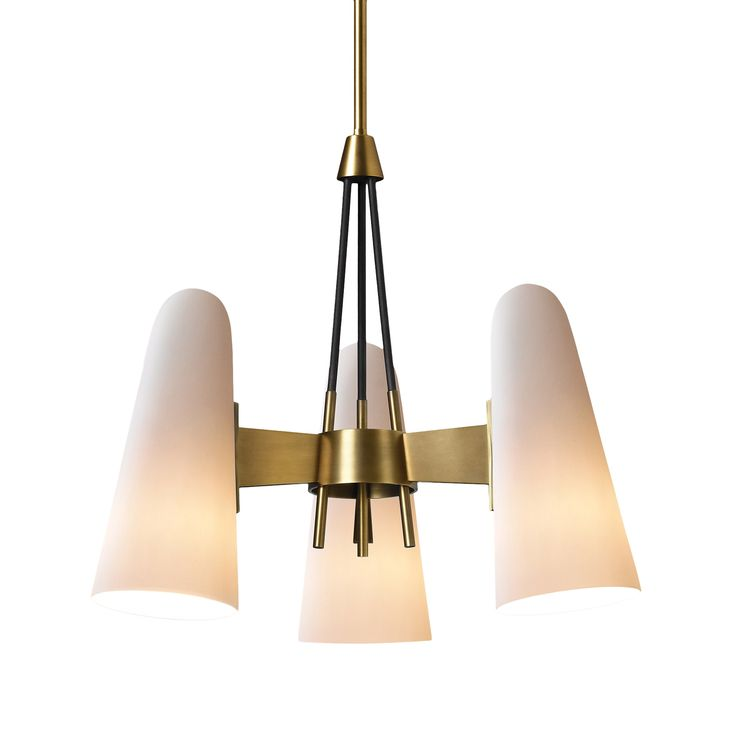 Jbs Montfaucon 3 Light Pendant By Jonathan Browning Studios Made To Order