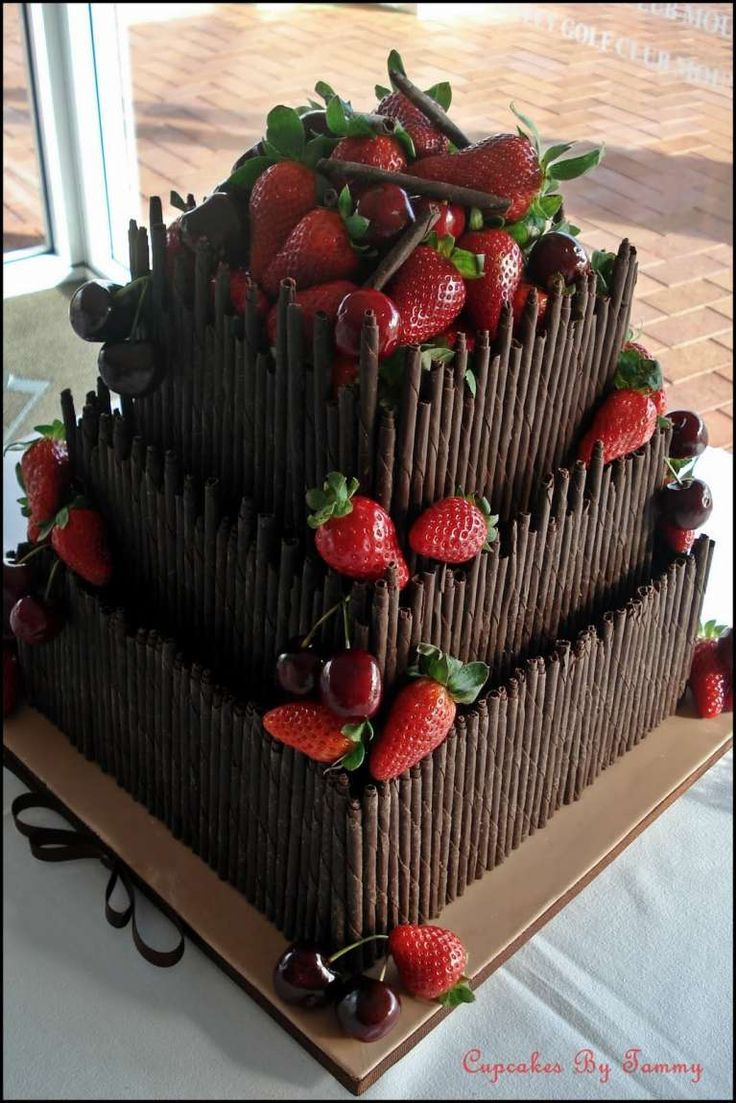 Torte nuziali al cioccolato  (Foto 22/42) | PourFemme