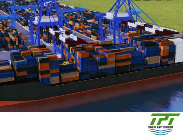 THE BEST PORT TERMINAL IN MEXICO. Tuxpan Port Terminal will provide specialized service to vessels carrying containers, general cargo and cars. The concession granted by Port Authority permits to handle the three load segments, with which this facility will become the most complete and best-equipped terminal in the Gulf of Mexico. #tpt