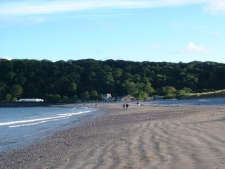 Oxwich Bay on the Gower Peninsula, near Swansea.  I lived there during my fourth year at university.  Such a beautiful place and some great memories.