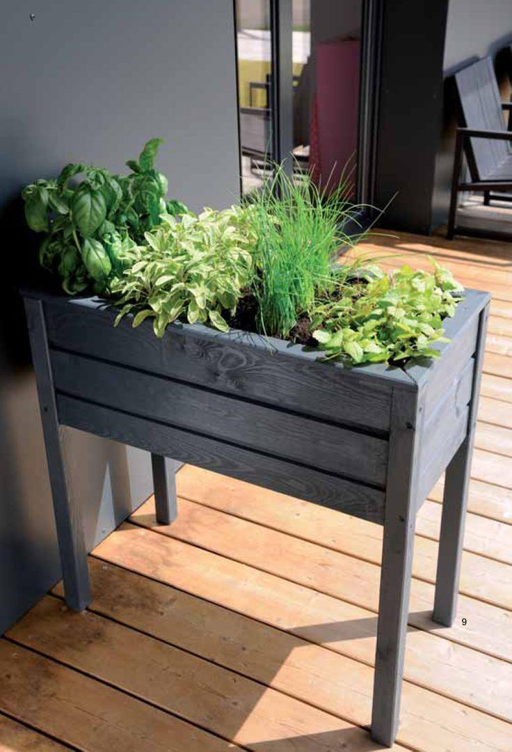 les 16 meilleures images du tableau jardin en bacs sur pinterest potager bonnes id es et. Black Bedroom Furniture Sets. Home Design Ideas