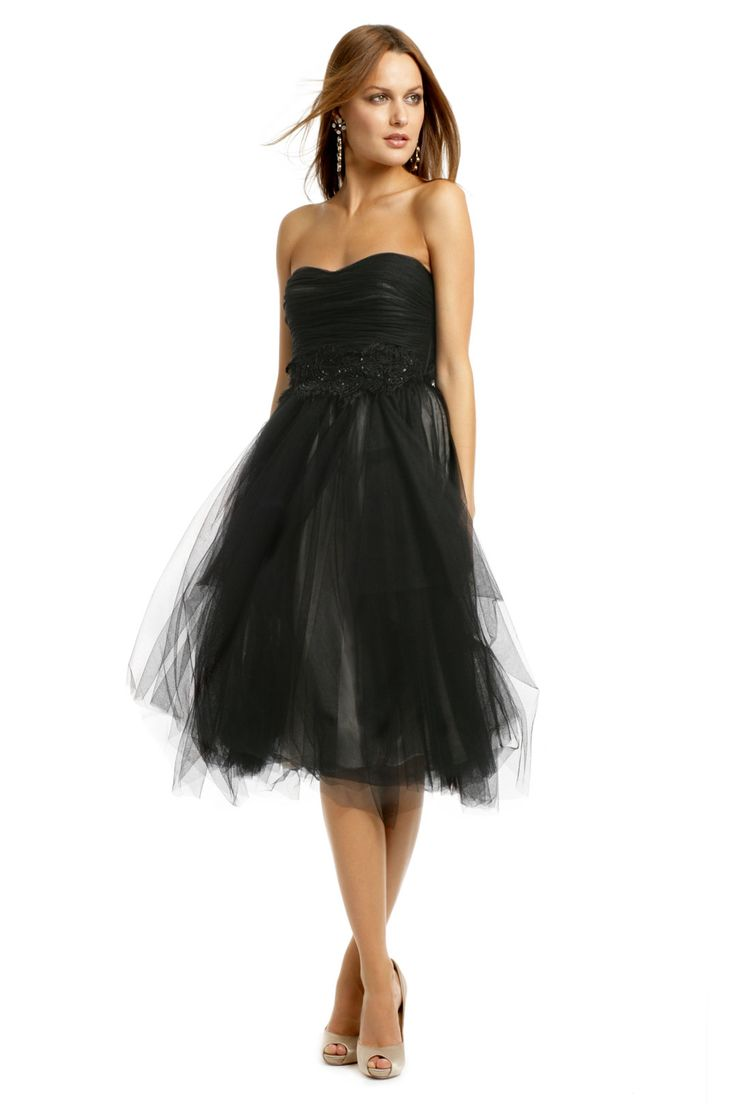 Robert Rodriguez Black Label Avril Dress.  Love it!  Not too poofy