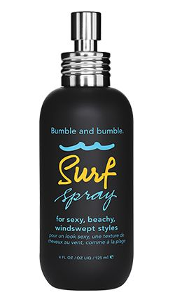 Bumble and bumble Surf Spray pulls quadruple duty as a hairspray, texturizer, volumizer, and defrizzer. Bumble and bumble Surf Spray, $27; sephora.com   - ELLE.com