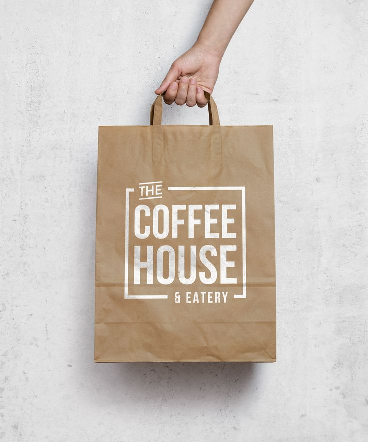 The Coffee House & Eatery logo by Lucia Sancho