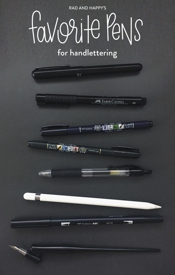 One of the most frequent questions I get asked is, What pen are you using?  So here is a list of my go-to pens and what I like/don't like about them,  and links to where to buy them. :) And a quick tip for making your pens  last longer.. use marker paper. I could probably write a whole other post  on just paper but for now just know it has something to do with the fibers  and your should probably trust me on this one for now. :)  1. Pentel Brush Pen: This pen is a lot of fun. You can easily…