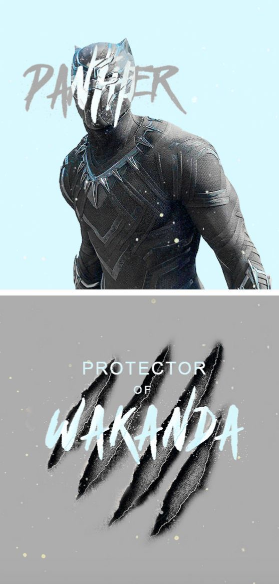 T'Challa- Black Panther
