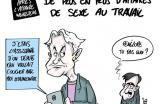 Emmanuel Macron et les métaphores  Macron et la théorie de la cordée #dessin pour @lopinion_fr sur un article de @NSegaunes à lire ici : https://t.co/lmflUhUE8O pic.twitter.com/JPN7Yn4EOT