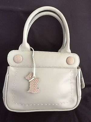 #Radley handbag #small duck egg blue grab bag with #spotty dog and dust cover ,  View more on the LINK: 	http://www.zeppy.io/product/gb/2/162172152899/