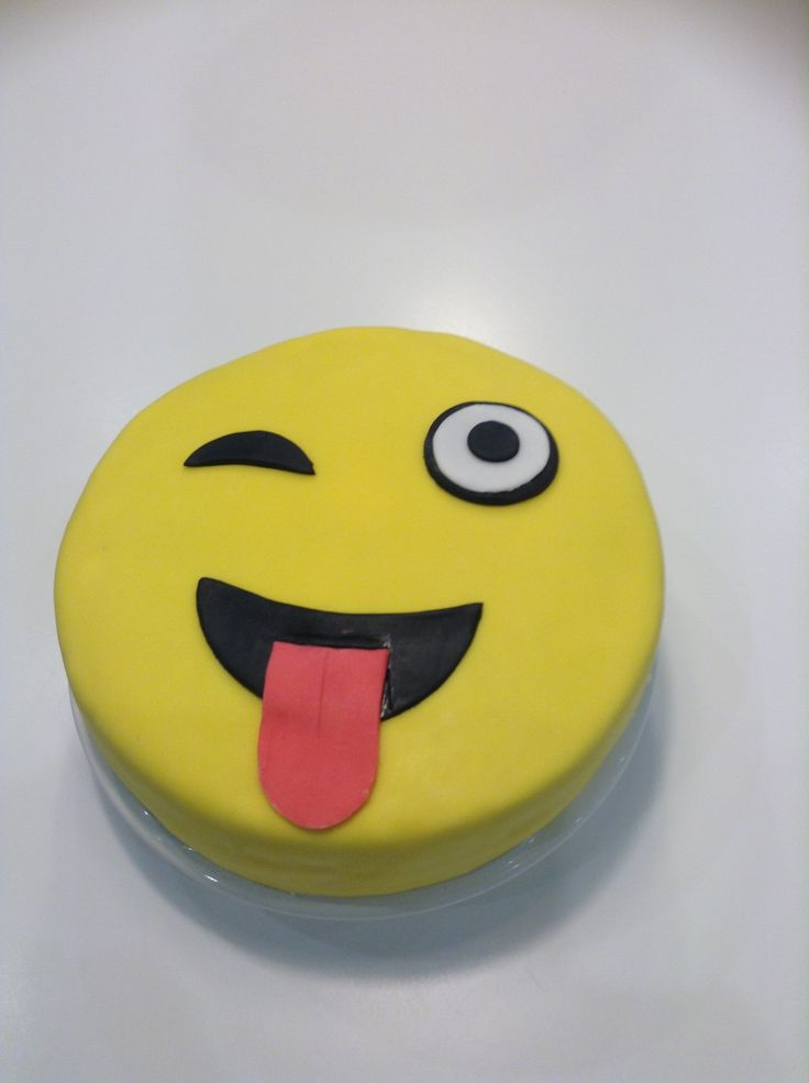 Images Of Birthday Cake Emoji : 53 best images about Emoji cake on Pinterest Smiley ...