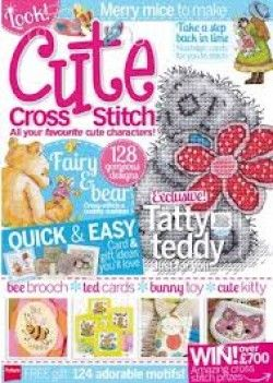 Cute Cross Stitch  Summer 2014 Issue 6  Saved