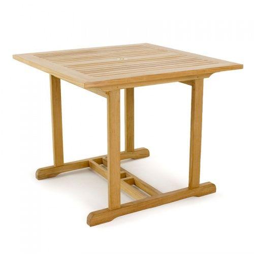 36 Inch Square Teak Tables