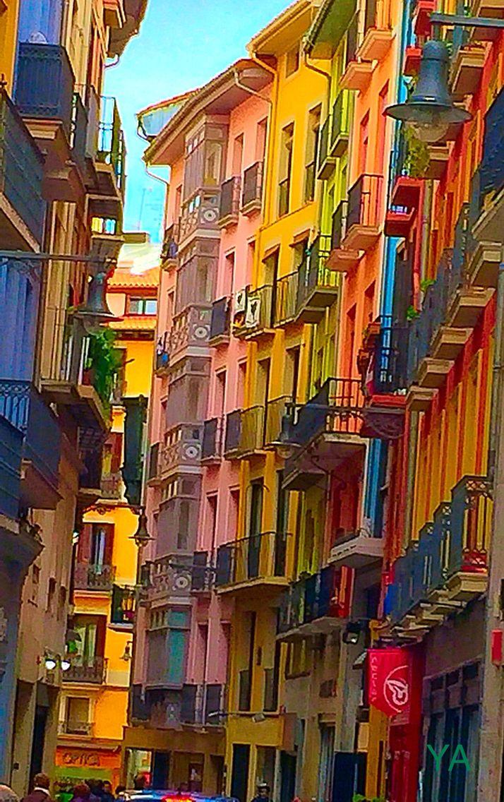 Pamplona, calle Zapatería
