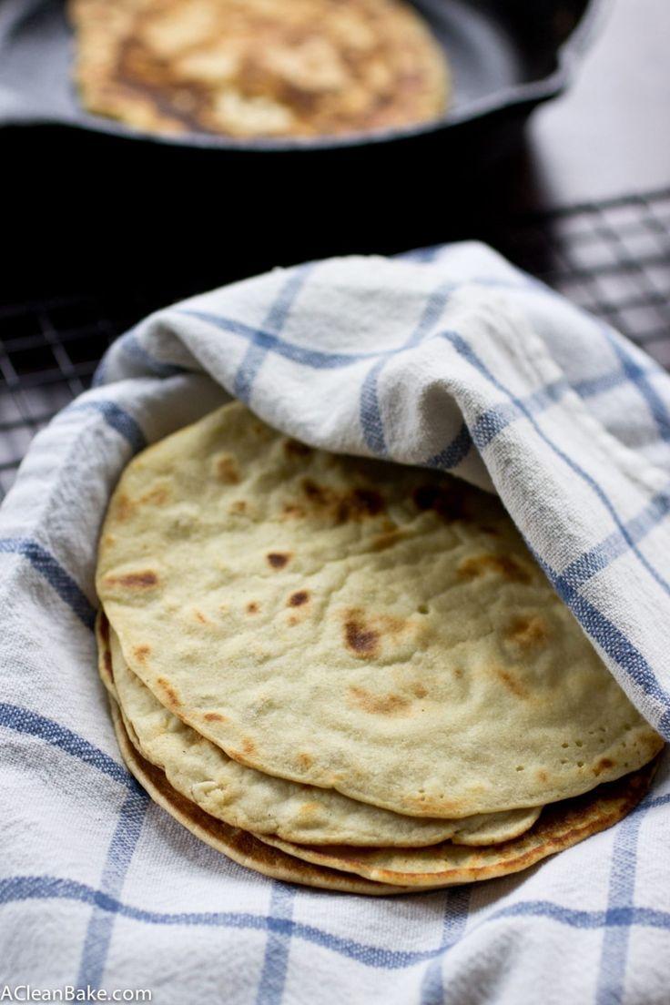 Grain free tortillas