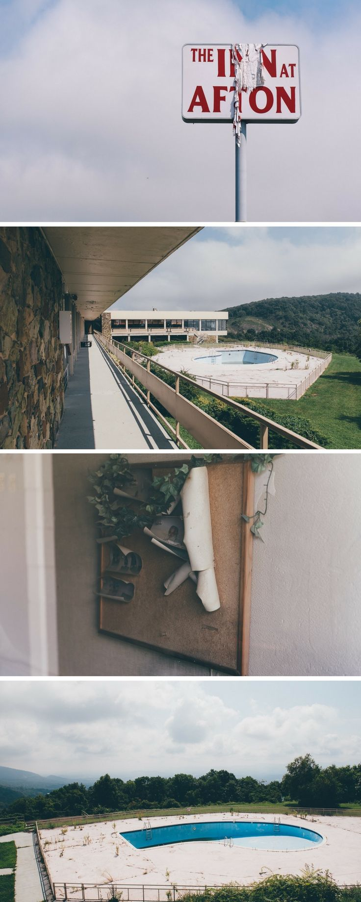 Lost Places in Virginia - visiting the once 'Million Dollar View Motel' at the Blue Ridge Parkway during our USA Roadtrip.