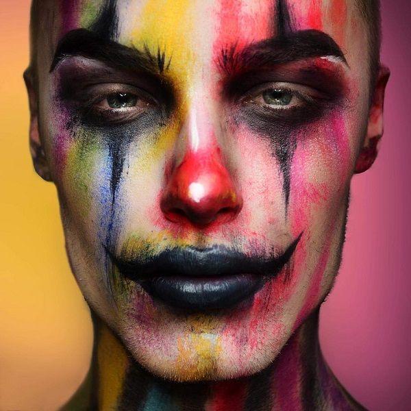 Best 25+ Clown makeup ideas on Pinterest | Harlequin makeup ...