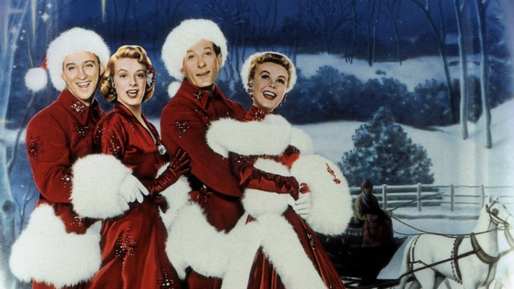 White Christmas 1954 ~Probably my all time favorite movie.Love when it snows in the end.Beautiful set, costumes, singing what more could you ask.