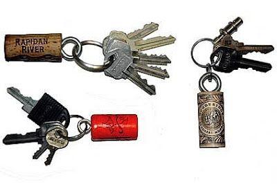2 Rock Lobsters: Wine Cork Keychains