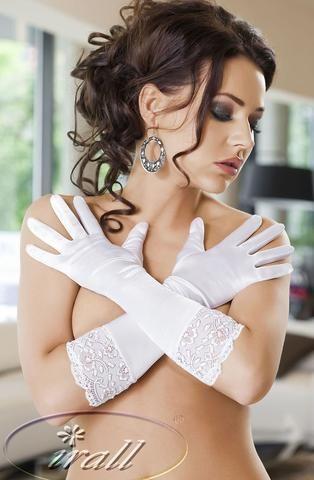 Irall Erotic Nora Gloves (White)