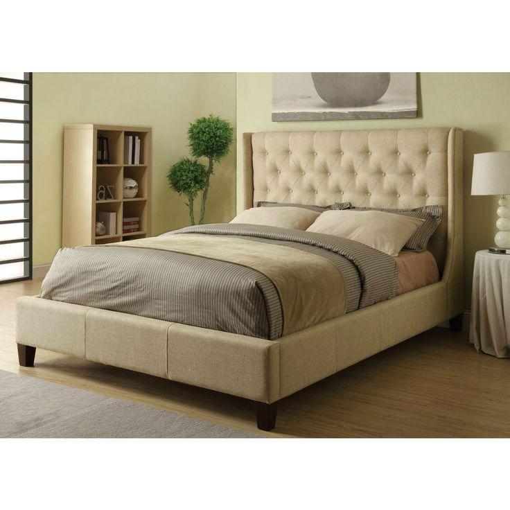 Mejores 20 imágenes de Upholstered Frames- King/CA King size en ...
