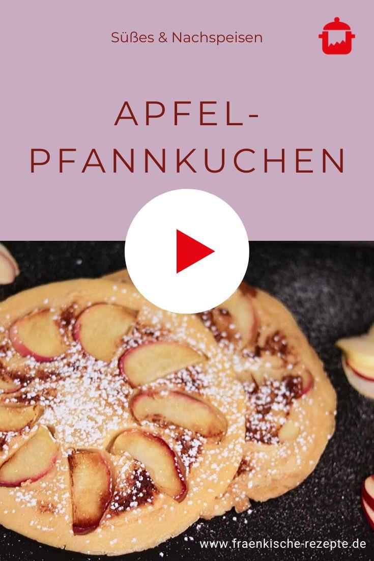 apfel pfannkuchen fränkische rezepte rezept in 2020