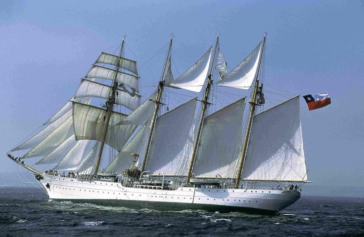 buque escuela esmeralda, Chile