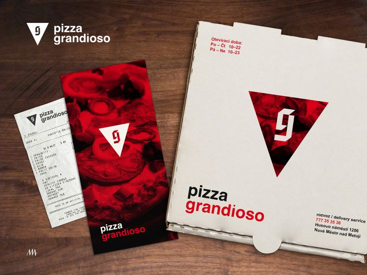 Branding for pizzeria Author: Jakub Mendel
