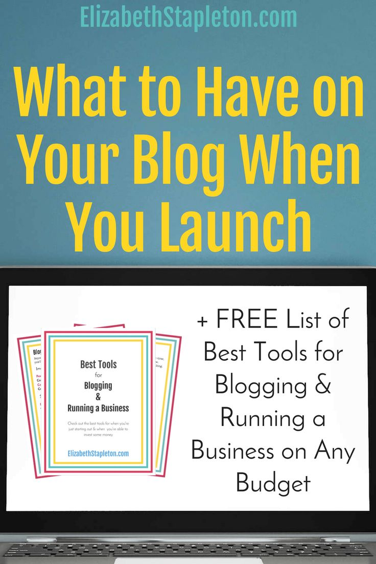 Starting a blog? here is what you need to write first to launch strong! how to start a blog | blog launch | blog content