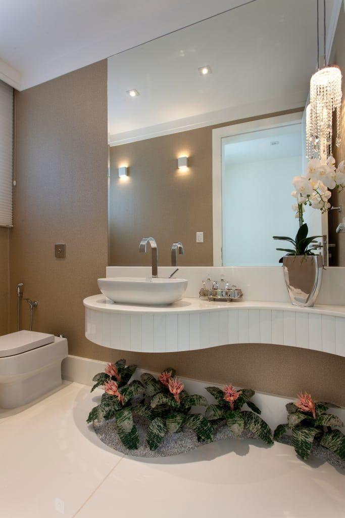 Busca imágenes de diseños de Baños estilo  de Designer de Interiores e Paisagista Iara Kílaris. Encuentra las mejores fotos para inspirarte y crear el hogar de tus sueños.