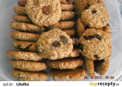 Vločkové sušenky a la BeBe dobré ráno recept - TopRecepty.cz