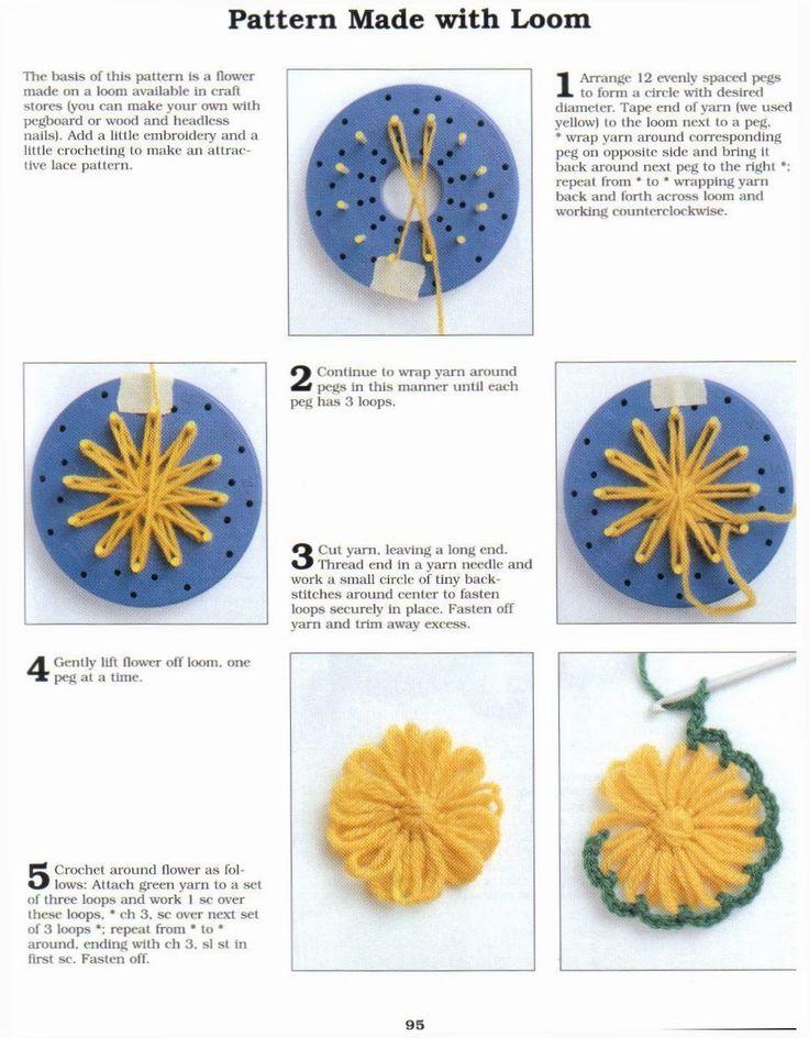 loom pattern - flower