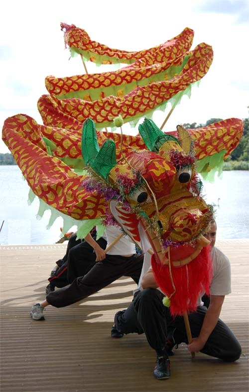 Kid Dragon Dance Chinese Crafts Costume Carnival Ideas