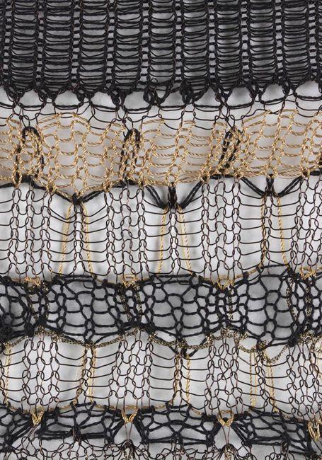 Knitting by Juliana Sissons