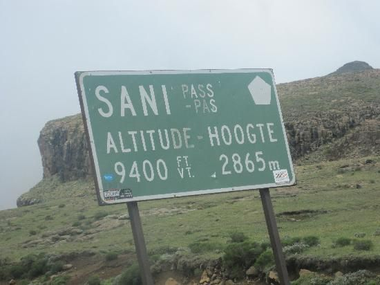 Sani Pass.....highest pass in Africa.