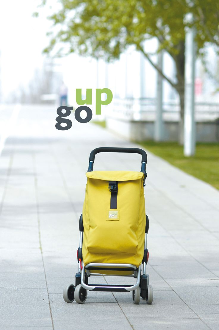 Go Up Shopping Trolley