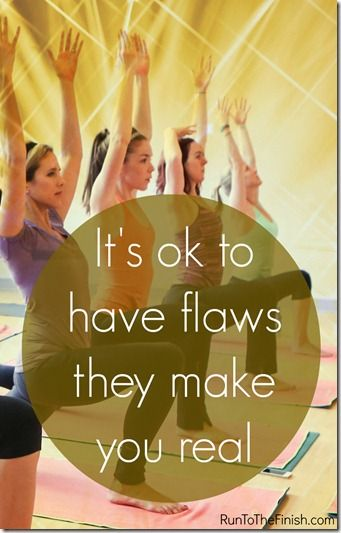 how owning your flaws can release a lot of fear and stress
