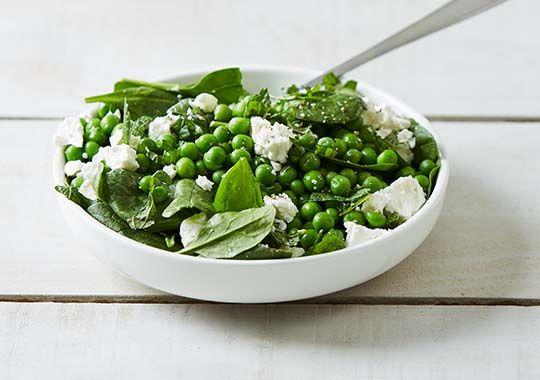 Pea, Mint and Feta Salad