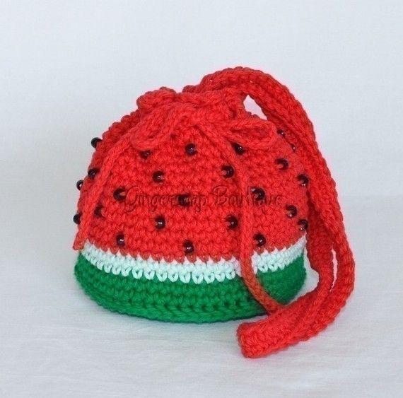 PDF Crochet Pattern  Yummy Purses